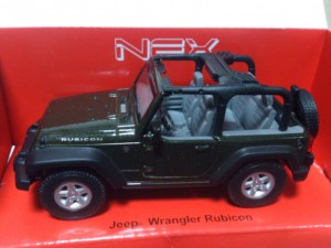 AUTOKOLEKCJA WELLY 1:34 - JEEP WRANGLER RUBICON