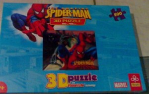 Puzzle 3D Spiderman 500