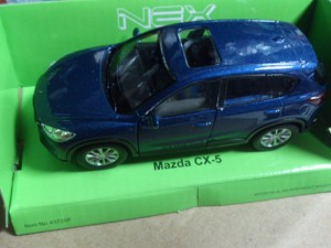 AUTOKOLEKCJA WELLY 1:34 - MAZDA CX-5