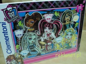 CLEMENTONI - PUZZLE MONSTER HIGH, 250 ELEM.