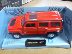 AUTOKOLEKCJA WELLY 1:34 - HUMMER H3 TM