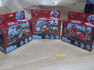 CARS 2 MINI KIT - KLIP KITZ DO ZŁOŻENIA
